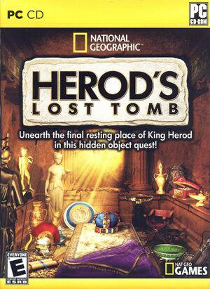 Herod's Lost Tomb cover