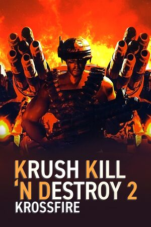 Krush Kill 'N Destroy 2: Krossfire cover