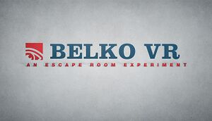 Belko VR: An Escape Room Experiment cover