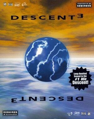 Descent 3 cover