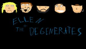 Ellen and the Degenerates RPG cover