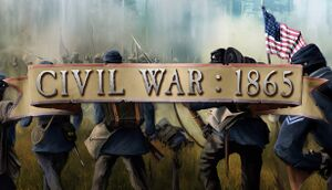 Civil War: 1865 cover