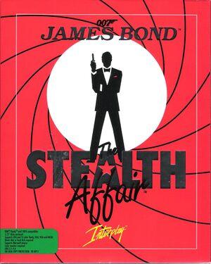 James Bond 007: The Stealth Affair cover
