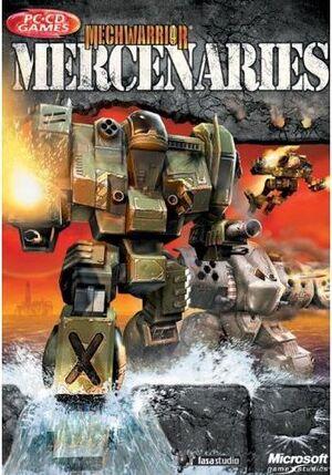 MechWarrior 4: Mercenaries cover