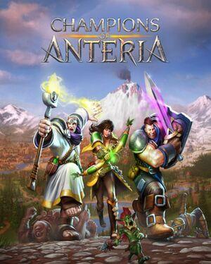 Champions of Anteria cover