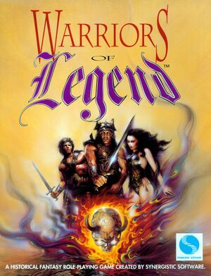 Warriors of Legend cover