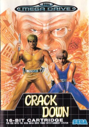 Crack Down cover
