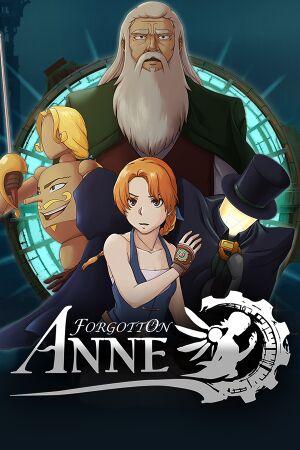 Forgotton Anne cover
