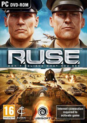 R.U.S.E. cover