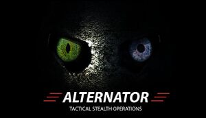 Alternator: Tactical Stealth Operations cover