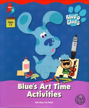 Blue's Art Time Activities cover