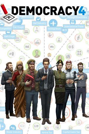 Democracy 4 cover