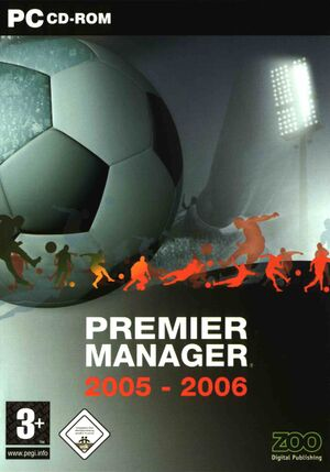 Premier Manager 2005-2006 cover