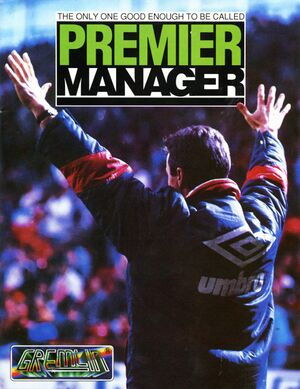 Premier Manager cover