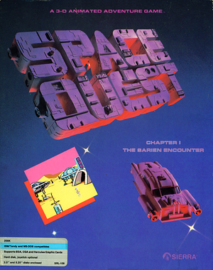 Space Quest: Chapter I - The Sarien Encounter cover