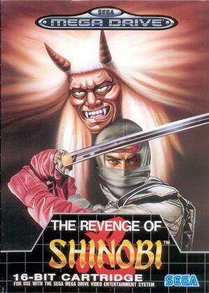 The Revenge of Shinobi cover