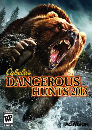 Cabela's Dangerous Hunts 2013 cover