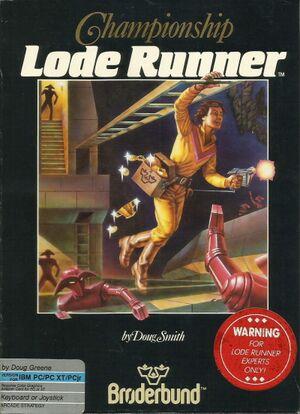 Championship Lode Runner cover