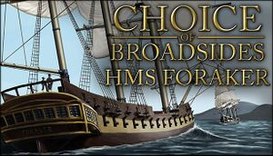 Choice of Broadsides: HMS Foraker cover