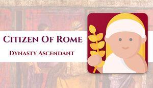 Citizen of Rome - Dynasty Ascendant cover