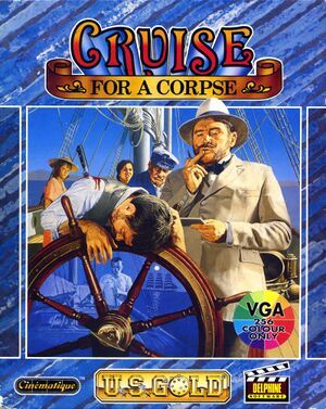 Cruise for a Corpse cover