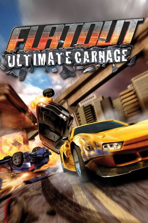 FlatOut: Ultimate Carnage cover