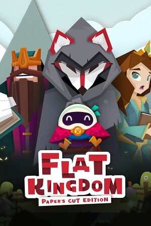 Flat Kingdom Paper's Cut Edition cover