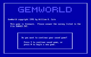 GemWorld cover