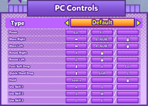 Keyboard and Mouse bindings (Default)