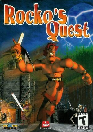 Rocko's Quest cover