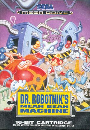 Dr. Robotnik's Mean Bean Machine cover
