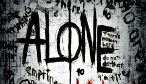 Alone K.W. cover