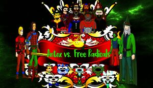 Antox vs. Free Radicals cover