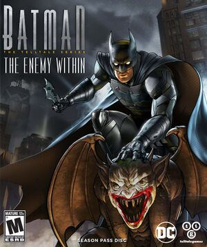 Batman: The Enemy Within - The Telltale Series cover