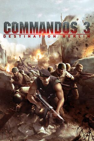 Commandos 3: Destination Berlin cover