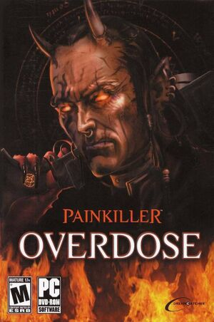 Painkiller: Overdose cover