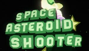 Space Asteroid Shooter: Retro Achievement Hunter cover