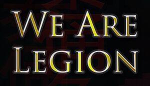 We Are Legion cover