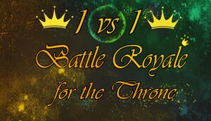 1vs1: Battle Royale for the throne cover