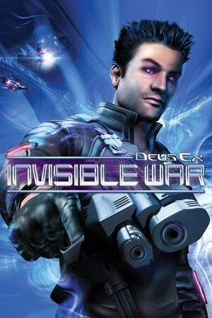 Deus Ex: Invisible War cover