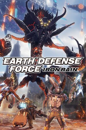 Earth Defense Force: Iron Rain cover