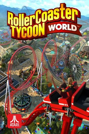 RollerCoaster Tycoon World cover