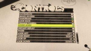 Controls (X-Box controller) 2/2