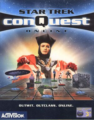 Star Trek: ConQuest Online cover