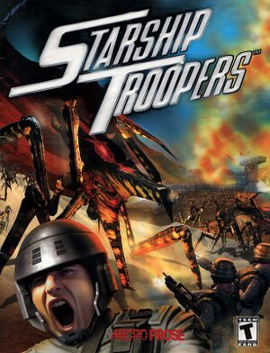 Starship Troopers: Terran Ascendancy cover