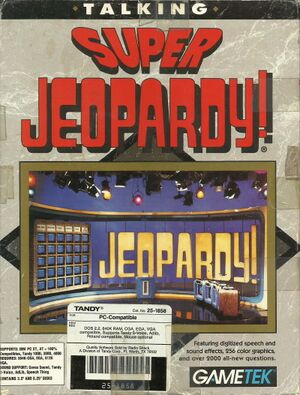 Super Jeopardy! cover