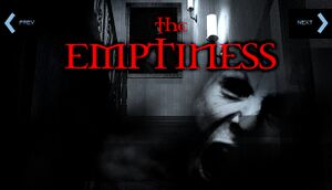 The Emptiness Deluxe Edition cover