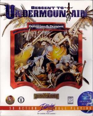 Descent to Undermountain cover