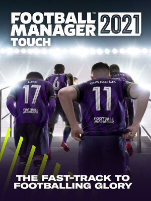 Football Manager 2021 Touch cover