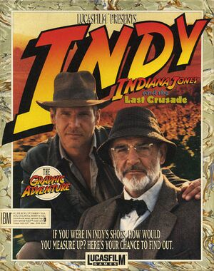 Indiana Jones and the Last Crusade:The Graphic Adventure cover